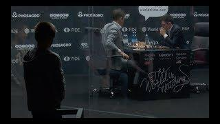 Highlights video World Chess Championship 2018 - Round- up of Day 2