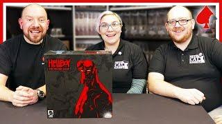 Hellboy the Board Game Retail Edition Unboxing