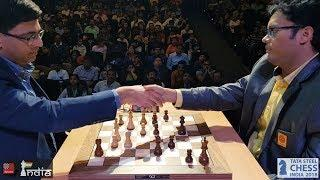 Vishy Anand shocked by his former second Surya Ganguly | Tata Steel Chess India Rapid 2018