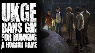 #RPG - UK Games Expo bans GM for running a Horror Game (Things from the Flood)