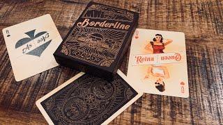 Borderline Playing Cards - Traina Design Kickstarter - Deck Review!