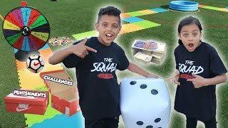 GIANT Board Game Challenge - Win $1000!! SIS VS BRO!!