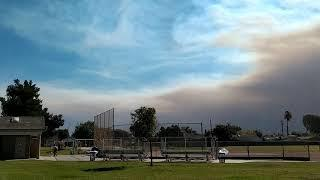 """Ventura """"Hill"""" Fire .... A day after Borderline shooting ????"""