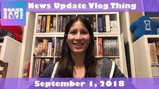 News Update Vlog Thing - September 1, 2018