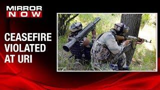 Ceasefire between India and Pakistan army at Line of Control in Kashmir