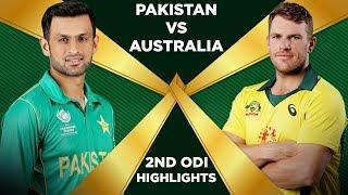 Pakistan Vs Australia 2019 | 2nd ODI | Highlights | PCB