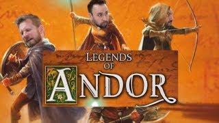Legends of Andor Legend 3 - Board Game Session
