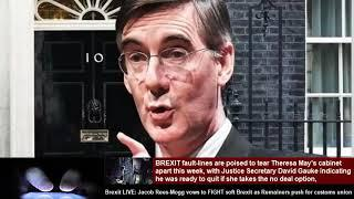 Brexit LIVE: Jacob Rees-Mogg vows to FIGHT soft Brexit as Remainers push for customs union
