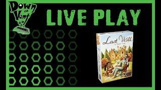 Last Will Board Game Live Play Through