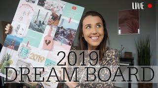 2019 DREAM BOARD CHAT! LIVE!
