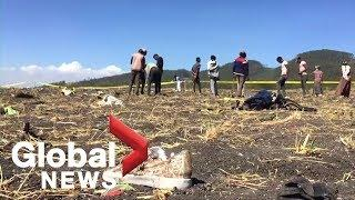 Ethiopian Airlines crash: Shoes, other items found among wreckage