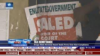 Enugu State Revenue Board Seals Firms Over Non-Compliance