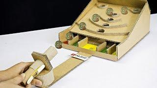 DIY Awesome Marble Board Game Using Cardboard