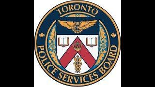 Toronto Police Services Board Meeting | LiveStream | Thursday, August, 23rd | 1pm