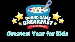Board Game Breakfast  - Greatest Year for Kids