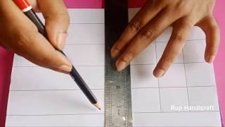 খুব সহজ ফুলকারি ওড়নার ডিজাইন-3, Easy and simple phulkari dupatta orna design drawing-3