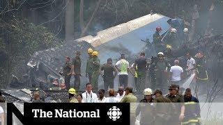 Plane crashes in Cuba with 110 people on board