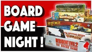 Unexpected Board Game Night!