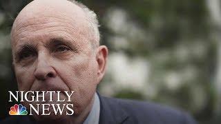 Federal Prosecutors Investigating Rudy Giuliani's Ukraine Dealings: Report | NBC Nightly News