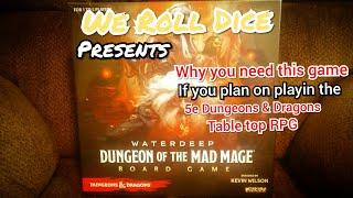 Why I bought Dungeon of the Mad Mage. Board game by Wizkids