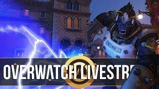 Overwatch Competitive - Borderline Diamond (10K Subs Stream)
