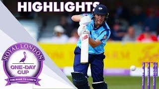 Yorkshire v Essex - Royal London One-Day Cup 2018 Highlights