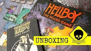 UNBOXING (Petr): Hellboy - The Board Game (KS)