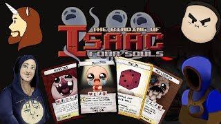 The Binding of Isaac: Four Souls   The Unusual Crew Board Game Night!