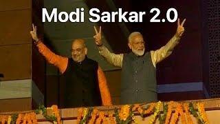 Lok Sabha Election Results 2019: Narendra Modi Again. NDA Wins Big; Congress Stunned