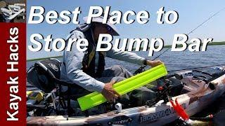 Fishing Kayak Setup Ideas - Fishing Bump Board