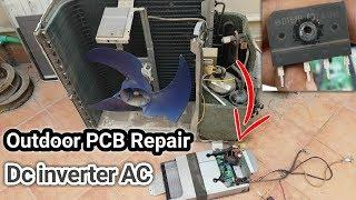 Dc inverter ac pcb board repairing outdoor kit in urdu/hindi