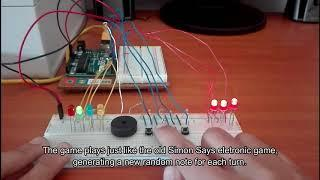 Arduino Says - Simon Says On Arduino Board
