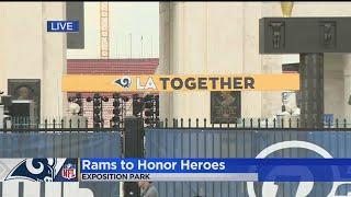 Woolsey Fire First Responders, Borderline Victims To Be Honored During Rams-Chiefs