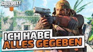 Ich habe alles gegeben - ♠ CoD: Black Ops 4 Custom Games ♠ - Deutsch German - Dhalucard