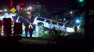 Officials hold press conference on deadly limousine crash
