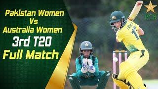 3rd T20I: Pakistan Women vs Australia Women, Kinrara Academy, Kuala Lumpur | PCB