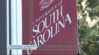 Proposed changes for USC Board of Trustees