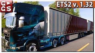 ETS2 1.32 ???? Fake News und Renault #52 Euro Truck Simulator mit DLCs deutsch