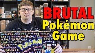 The BRUTAL Pokemon Board Game - Master Trainer Part 2