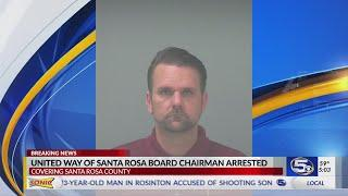 VIDEO: Santa Rosa County United Way board member arrested for grand theft