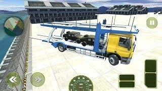 US Military Cargo Transport: Army Simulator Android Gameplay