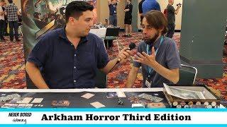Arkham Horror: Third Edition - Gen Con Interview
