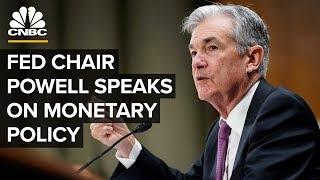 Fed Chair Jerome Powell speaks on monetary policy – 06/04/2019