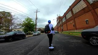 Absolutely Insane 4K video on a Boosted Board!