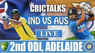 Live: IND Vs AUS 2nd ODI | Live Scores and Commentary | 2018 Series