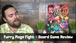 Furry Mage Fight - Board Game Review