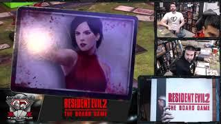 Angry Joe plays Resident Evil 2 Board Game Live