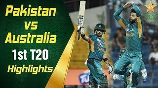 Pakistan Vs Australia | 1st T20I | Highlights | PCB
