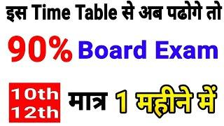 1 महीने में Board परीक्षा 2019 की तैयारी कैसे करे/How to score 90 in Board Exam in 1 months10th-12th