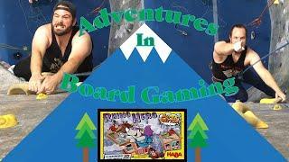 Rock Climbing and Rhino Hero (Adventures in Board Gaming)
